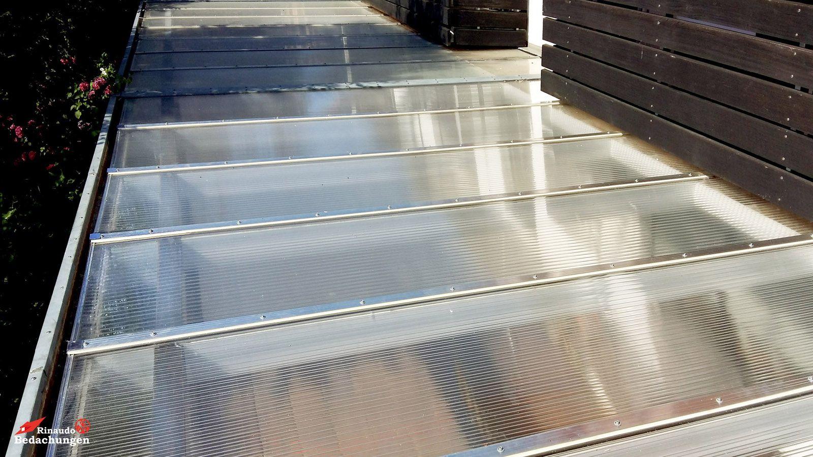 Doppelstegplatten Rinaudo Bedachungen Dachdecker Koln